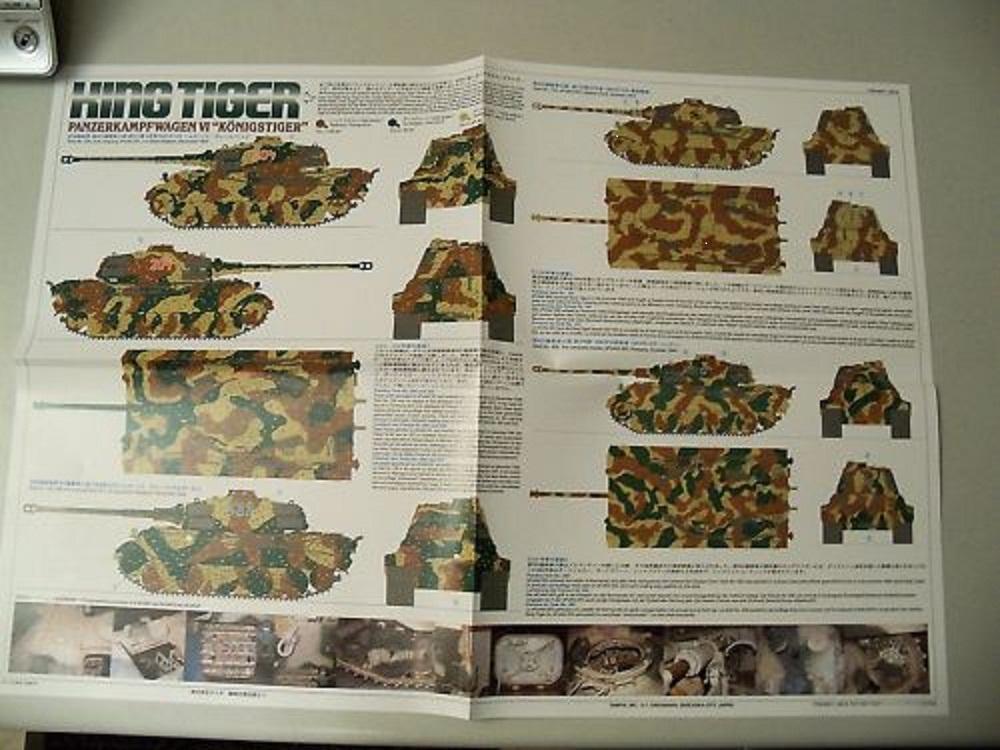 Tamiya King Tiger Painting Guide - RC Tank Warfare