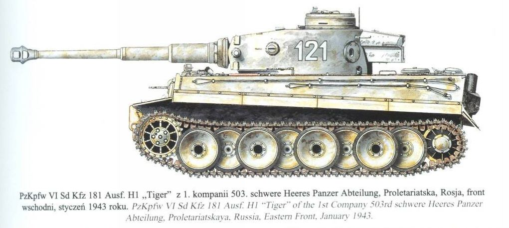 Tiger 1 Camo Patterns With > PICTURES< - RC Tank Warfare