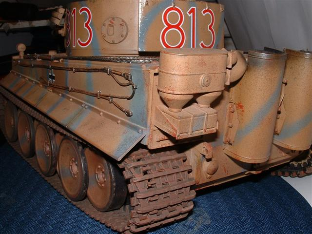 My Early Tiger 1 weathering - RC Tank Warfare
