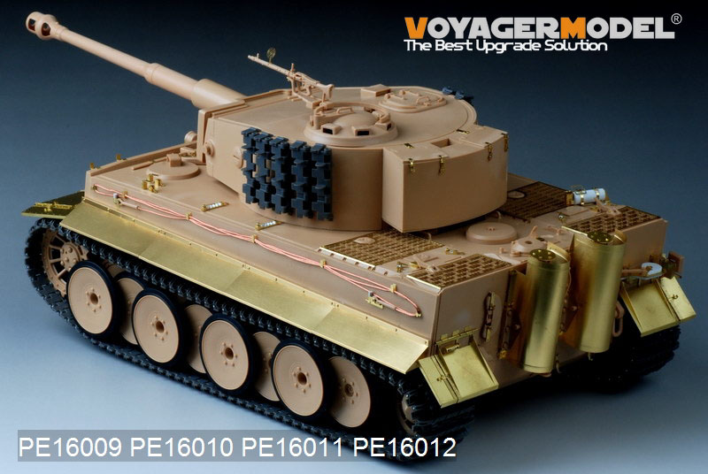 Voyager: new 1/16 Tiger 1 photo etch announced - RC Tank Warfare
