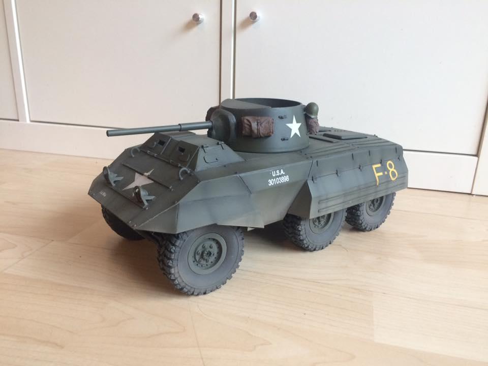 M8 Greyhound - RC Tank Warfare